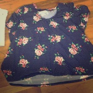 A rue21 floral print shirt